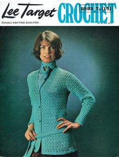 Items similar to PDF Vintage Ladies Womens Crochet Pattern Lacy Blue Belted Jacket Lee Target 8983 Unusual Pretty vibe Flapper Period Sex Kitten on Etsy Vintage Knitting, Vintage Crochet, Retro Outfits, Vintage Outfits, Body Picture, Types Of Buttons, Maxi Coat, Hippie Chick, 1960s Fashion