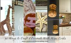 Wine+Cork+Crafts+and+DIY+Decorating+Projects