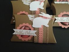 Stampin up Ostern Verpackung