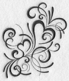 Hungarian Embroidery Pattern Machine Embroidery Designs at Embroidery Library! Neue Tattoos, Body Art Tattoos, Tatoos, Heart Tattoos, Skull Tattoos, Foot Tattoos, Flower Tattoos, Sleeve Tattoos, Machine Embroidery Patterns