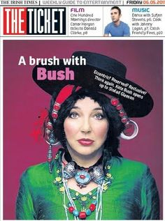 Kate Bush - I love hats, but maybe not this one.