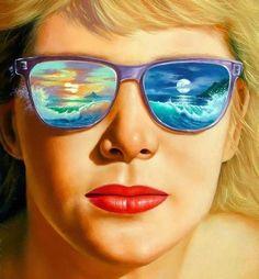 Modern surrealism in paintings of Jim Warren