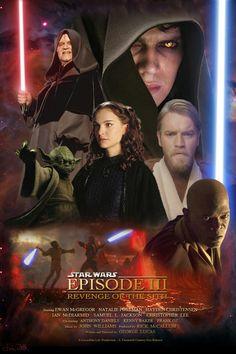 Star Wars: Revenge of the Sith Photo: Anakin Skywalker Amidala Star Wars, Star Wars Episoden, Star Wars Fan Art, Star Wars Gifts, Woodstock, Metallica, Star Wars Models, Star Wars Wallpaper, Polychromos