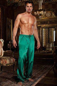 62d252d394 Emerald Charmeuse Sleepwear Pants by Dreamgirl