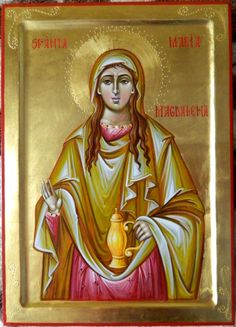 Mary Magdalene by Cerasela Elena Ciuca Mary Magdalene, Aur, Princess Zelda, Fictional Characters, Image, Saints, Fantasy Characters