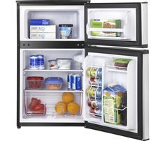 Ft. Compact Refrigerator   Stainless Look   AlternateView11 Zoom