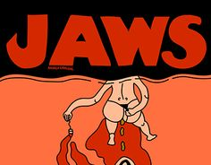 """Check out new work on my @Behance portfolio: """"If JAWS was scary"""" http://be.net/gallery/34655191/If-JAWS-was-scary"""