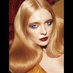 golden blonde retro