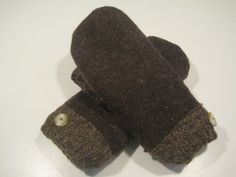 Hillsdale Wool Mittens  med/lg  MMC463 by MichMittensbyLauri, $23.00