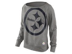 The Nike Wildcard Epic (NFL Steelers) Women's Sweatshirt.