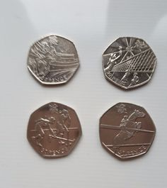 50p coins Fifty pence Olympics Equestrian Hockey Volleyball Cycling  x 4 Coins £12.99 Or Best offer Ebay UK Item No 262824881968