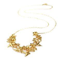 Calabria Crescent Necklace