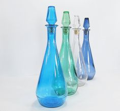 Vintage bottles - Etsy