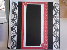 I used White Daisy and Black Cardstock, Heartstrings B&T Duo with zip strip left on, Heartstrings Complements, Exclusive inks Black and Ruby & Feb 2015 Stamp of the Month A Happy Hello all are from Close To My Heart & are available from my on-line store www.lindajestrimski.ctmh.com.au Australian Customers Only