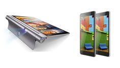 """Lenovo ad IFA 2015. #PHABPlus, phablet da 6,8"""" e poi il nuovo #Yoga3Tab Pro, tablet da 10 pollici con proiettore integrato che ruota di 180° - #LenovoLaunch"""