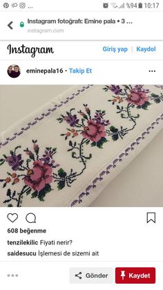 This post was discovered by Em Crochet Rug Patterns, Knitting Patterns, Cross Stitch Charts, Cross Stitch Patterns, Basic Embroidery Stitches, Free To Use Images, Tribal Art, Linen Bedding, Floral Tie