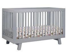 Hudson 3-in-1 Convertible Crib with Toddler Rail Thought you might like this one.