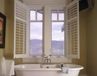 """Casement Windows open out, like a door, usually with a rotating handle that cranks them out. They give an open feel, but are tricky to screen. This example of casement window demonstrates a 'Craftsman"""" style Lite or Grid Bath Window, Bathroom Windows, House Windows, Windows And Doors, Best Replacement Windows, Window Grids, Interior Fit Out, Interior Design, Halfway House"""