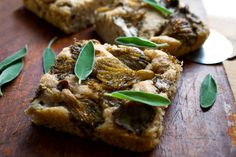 Potato Focaccia with Oyster Mushrooms Recipe - NYT Cooking