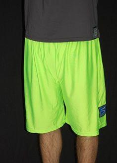 ultimate frisbee shorts.   bright green.  i want um. $20!