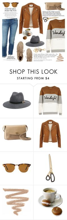 """Rag & Bone"" by mcheartsu ❤ liked on Polyvore featuring Bebe, rag & bone, Joie, River Island, UGG Australia, Ray-Ban, HAY, Louis Vuitton, casual and jeans"
