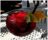 Primal Sangria; 1 bottle of red wine,  1 each: lime, lemon & orange, 1 tbsp stevia, 1/3 cup pure orange juice, 3 shots vodka , 1 cup berries, 1 cup soda, water.