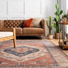 Botaniq Clover Medallion Tassel Multi Rug Rugs Usa, Tassels, Area Rugs, New Homes, Couch, Furniture, Home Decor, Ideas, Rugs