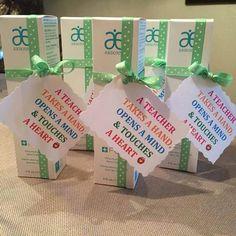 Arbonne teacher gift idea. #handcream #hands A Teacher Takes A Hand,Opens A Mind & Touches A Heart.  Shop at: http://luzmariaheredia.arbonne.com