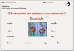 La Caseta, un lloc especial: Petits textos de comprensió lectora