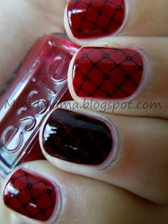 31 Day Challenge! Day 1- Red Nails