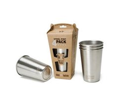 Be cool at camp with these Klean Kanteen Stainless-Steel Pints