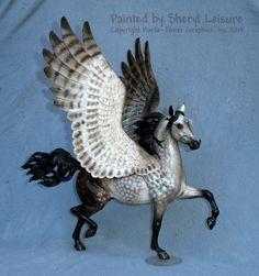 Pegasus Fantasy - Sheryl Leisure. I have a Huckleberry Bey model too!
