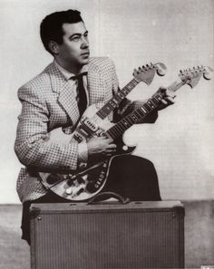 THE UNIQUE GUITAR BLOG: Paul A. Bigsby; His Guitars and Inventions