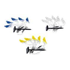 SOLVINDEN Solcelledrevet lyslenke, 5 IKEA Sett fugleklipsen der du ønsker mer lys.