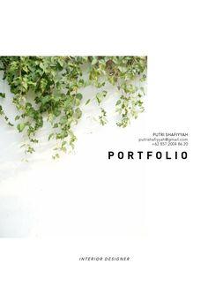 Algorithmic sketchbook parametric design and architecture design for Interior design portfolio cover