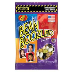 JELLY BELLY BEANS BEANBOOZLED - WEIRD AND WILD FLAVORS!
