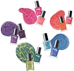 Love these animal-print inspired #nail looks using our Mosaic Effects Top Coat #AvonSpring #manicure