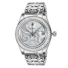 98e32f8d303 Rolex Datejust White Gold and Diamond Ladies Automatic Watch