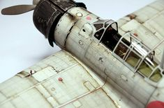 By Oishi Nattapong Suwanarath. Navy Aircraft, Military Aircraft, Scale Models, Aircraft Propeller, Imperial Japanese Navy, Model Hobbies, Military Modelling, Japanese Models, Rc Model