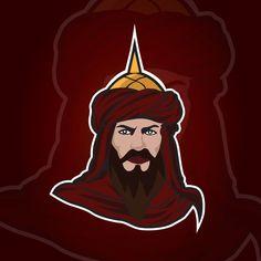 Vector Design, Vector Art, Logo Design, Medieval Knight, Vector Portrait, Game Logo, Free Vector Graphics, Background Templates, Digital Illustration