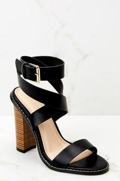 4000e5ec11748e Trendy Nude Heels - Cute Ankle Strap Heels - Heels -  38.00 – Red Dress  Boutique