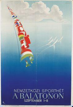 Balaton retro19 plakat1 poszter hirdetes BALATON.travel