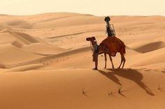 Google agora também contrata camelos para rastrear o deserto: http://bit.ly/ZRrmgl