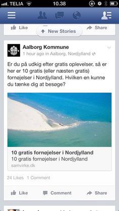 Aalborg kommune på Facebook.