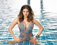 Sunny L is now a well-known Bollywood star, and she is a serene beauty. She will turn 36 this mo...