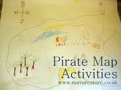 {Pirate map literacy fun}