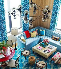 Studio 4NYC Water Lilies rug in House Beautiful, Katie Ridder designs