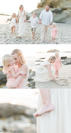 Fall is here and family sessions are in full effect! A peek of this beautiful Laguna Beach lifestyle family session at one of my favorite locations...