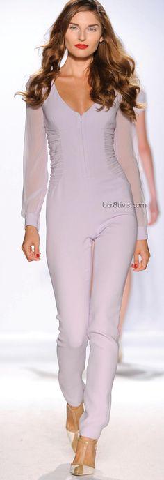 Gattinoni Spring Summer 2011 Ready to Wear - Pastel Lavender