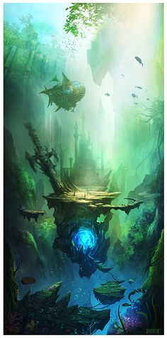 Love this artwork would love it framed up in my house very trip as well. Concept Art by Zhao